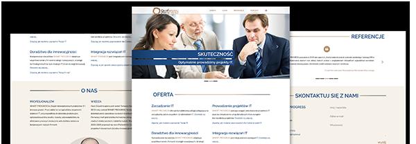 Strona www Smart Progress